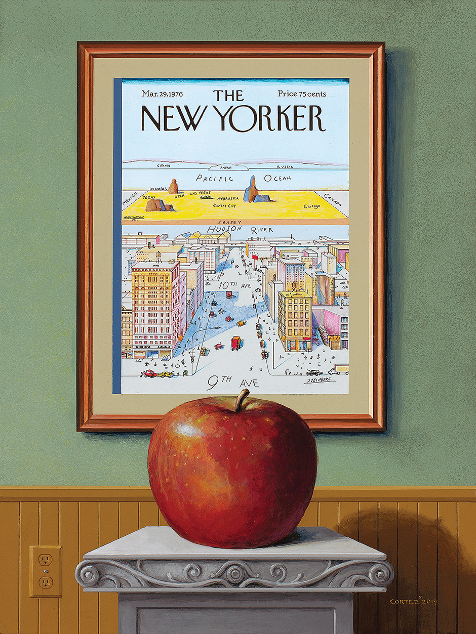 The Big Apple by Jenness Cortez